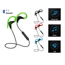 Wireless Bluetooth 4.1 Headphone Earphone Sport Headset Mic for iPhone Lot