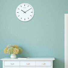 Silent Non Ticking Round Wall Clock - Easy to Read Battery Home Office Clock