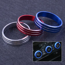 A/C Heater Climate Control Button Knob Cover Ring + Tape For Lancer Outlander
