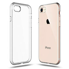 For Apple iPhone 7/8 Transparent TPU Clear Soft Case Cover Protective Back Skin