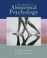 Available Titles CengageNOW: Essentials of Abnormal Psychology by V. Mark Durand