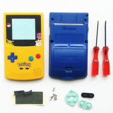 GBC For Nintendo Game Boy Color Housing Shell LIMITED EDITION Pokemon Pikachu