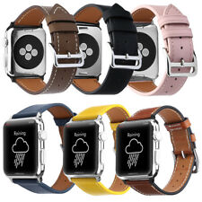For iWatch Strap Genuine Leather Band Fashion Replacement Apple Watch 38mm/42mm