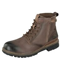 Dockers by Gerli Men's Boots Shoes 41BN003-140360 Choco Leather Lace up New