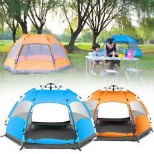 Outdoor 3-4 Persons Automatic Camping Tent Waterproof Double Layer UV Beach