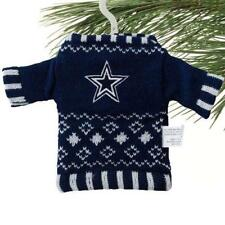 Dallas Cowboys Knit Sweater Christmas Ornament  5.5 inch- NFL Football Fans
