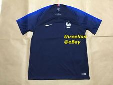 BNWT Nike 2018 FRANCE FRENCH Home World Cup Soccer Jersey Football Shirt 893872