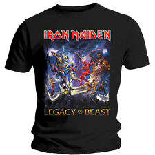 Iron Maiden Legacy of the Beast Steve Harris Official Tee T-Shirt Mens