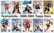 2000-01 Topps Stars Hockey Set ** Pick Your Team ** Checklist in Description