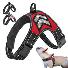 Reflective Dog Soft Harness No Pull Nylon Adjustable Strong Vest Walking Harness