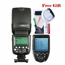 Godox V860II-C TTL 2.4G Camera Flash Speedlite Xpro-C TCM Transmitter For Canon