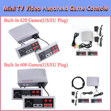 Retro Dual Keys Handheld Game Player for NES Game Console Built-In 600/620 Games