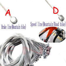 Universal MTB Bike Bicycle Brake Speed Inner Gear Cable Core Wire Line Silver