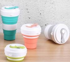 Silicone Folding Coffee Cup Mug Telescopic Collapsible Travel Camping Tool