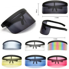Large Oversize UV400 Shield Visor Sunglasses Windproof Cycling Goggles Glasses