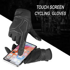 Touch Screen Cycling Gloves MTB Bike Spots Full Finger Bicycle Gloves Mens Women