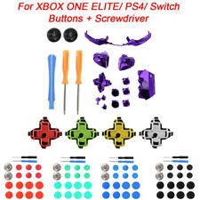 Screwdriver+Buttons Kit Replacement Parts for XBOX ONE Elite/PS4 Controller Set