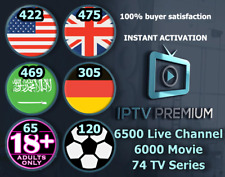 Best Premium IPTV Subsecription US UK ARAB Adult M3U MAG smart IPTV FireTV IOS