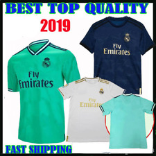 19 20 Real Madrid Soccer Jersey Shorts Home Away Third Soccer Kit 2019 2020