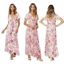 Dress Floral Evening Long Women Party Maxi Dresses Summer Beach Boho Sundress