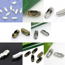Ball Chain Connectors Clasps Fermoir Fit 1-4mm Ball Chain Jewelry Making Finding