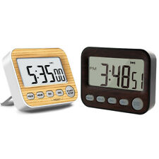 1X(Timer Digital Timers, Kitchen Timer with Alarm Clock for Cooking or Offic L4)