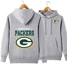 Green Bay Packers Hoodie Casual Sweatshirt Pullover Hooded Coat Gift For Fans