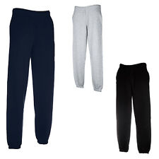 2 PAIRS FRUIT OF THE LOOM JOG PANTS BOTTOMS 3 COLOURS