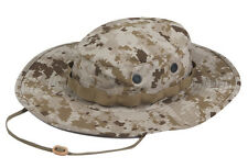 Desert Digital Camo Boonie Hat - Wide Brim Poly Cotton Ripstop by TRU-SPEC 3262
