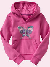 NEW GAP BUTTERFLY GRAPHIC HOODIE SIZE XS 4/5 L 10