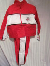 Wisconsin Badgers Youth Wind Jogging Suit 8 10-12 14-16