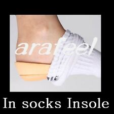 Wedding shoe Heel lifts Pad high insert sock Insole 2cm