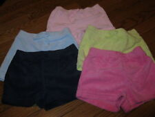NWT Gymboree Spring,Summer Terry Shorts Pink,Yellow,Blue Girls 2T,2, 3 U PiC