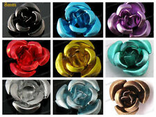 50 Aluminum Rose beads Wedding Table Romance Decoration