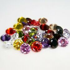 Round 5mm Multi Color Mix CZ Loose Cubic Zirconia Lot