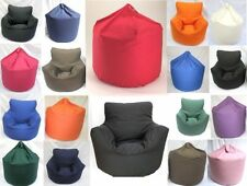 Extra Large Or Children Size Bean Bag  Or Chair Shape With Beans Filling