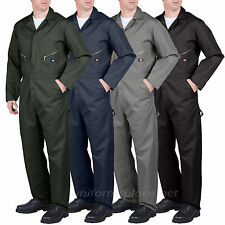 Dickies COVERALLS Men Long Sleeve Mechanic Coverall 4879/49799 Black Gray Blue..