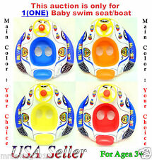 Inflatable Swim Ring Pool Float Baby Swim Seats / Boat