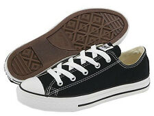 NEW KIDS CONVERSE ALL STAR OX BLACK 3J235 ORIGINAL