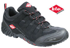 LEE COOPER STEEL TOE SAFETY WORK SHOES TRAINERS Black