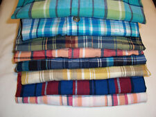 NWT $30 St. John's Bay Mens Madras Sport Shirt - Choose From Many Colors, Sizes!