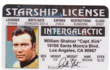 For your Wallet ID HOLDER pick Captain Kirk SPOCK Gene Simmons Kiss or a McLovin