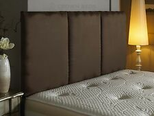 suede headboard 3ft,4ft,4ft6,5tf,6ft and in different heights