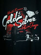PAWN STARS THE OLD MAN & CADILLAC WORLD FAMOUS GOLD & SILVER PAWN T-SHIRT NEW !