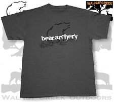 Bear Archery Logo Grey T-Shirt    #AB11GB