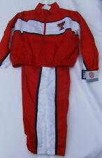 Texas Tech Red Raiders Childs Wind Jogging Suit Jacket Pants Size 4 5-6 7 NEW