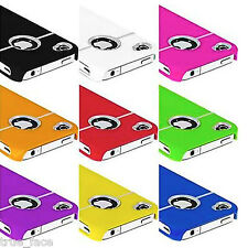 New Stylish CHROME Series Hard Case Cover For iPhone 4 4S 4G + Screen Protector