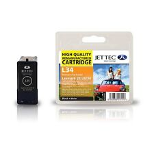 Jettec Remanufactured No.34 Black Ink Cartridge for Lexmark F4350 & more