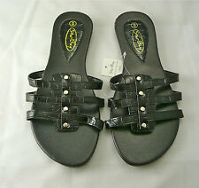 Womens Sandal/Flip Flop Black by Star Bay Free Shipping Limited Supply 2623