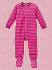 NEW GAP STRIPED FLEECE FOOTED SLEEPER SIZE 3-6-12-18-24M